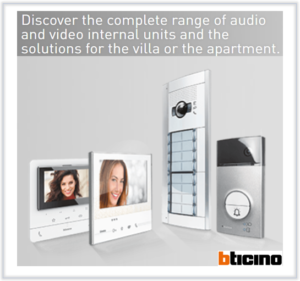 Bticino - 2 Wire intercom