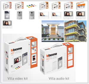 Bticino - Intercom Kits
